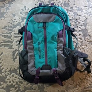 Patagonia refugio 28l teal backpck
